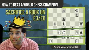 How To Beat A World Chess Champion: Anand vs Aronian