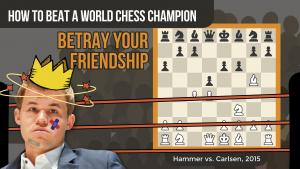 How To Beat A World Chess Champion: Hammer vs Carlsen