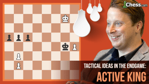 Tactical Ideas In The Endgame: The Active King