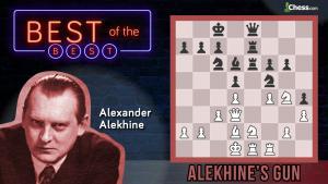 What Is Alekhine's Gun?