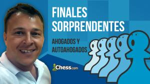 Ahogados | Finales de ajedrez sorprendentes