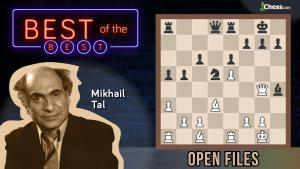Tal's Open Files: Great Chess Master Methods