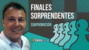 Subpromoción | Finales de ajedrez sorprendentes