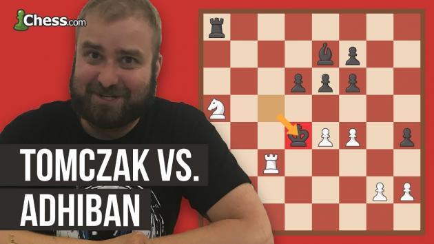Olimpiada Szachowa 2018: analiza partii Tomczak-Adhiban
