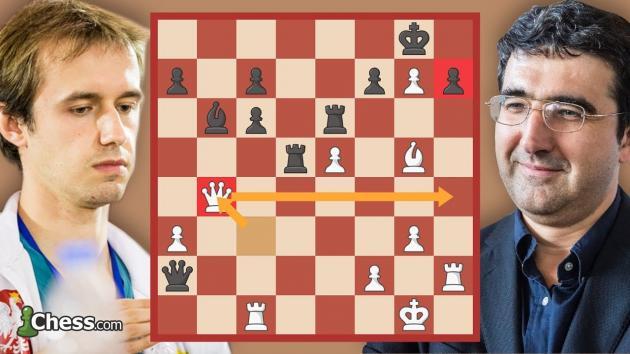 Olimpiada Szachowa 2018: analiza partii Tomczak-Kramnik