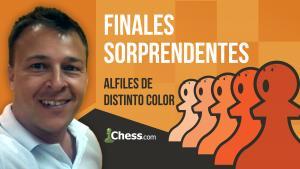 Alfiles de distinto color | Finales de ajedrez sorprendentes