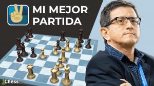 GM Carlos Matamoros | Mi mejor partida de ajedrez