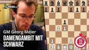 Georg Meier erklärt das Damengambit für Schwarz in 15 Minuten