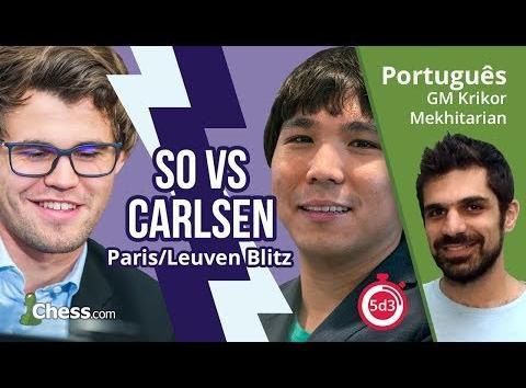 Leuven GCT Blitz: So vs Carlsen