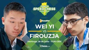 Wei Yi vs. Firoujza | Speed Chess Championship Juvenil