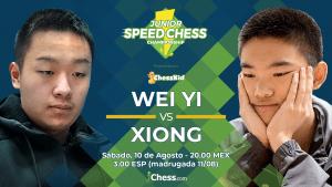 Wei Yi vs. Xiong | Gran Final del Speed Chess Championship Juvenil