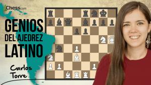 Carlos Torre   Genios del ajedrez latino