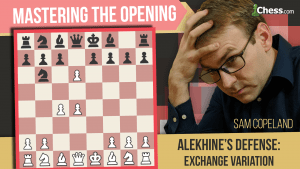 Alekhine's Defense: Corralling The Exchange