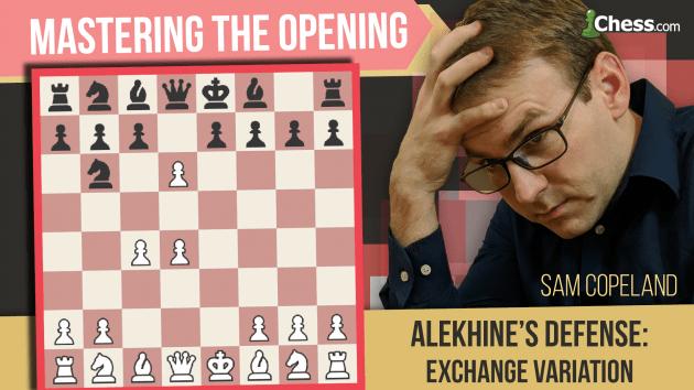 Alekhine's Defense: Corralling The Exchange