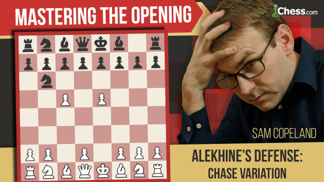 Alekhine's Defense: Chase Variation