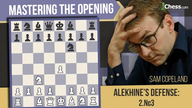 Alekhine's Defense: How To Punish 2. Nc3