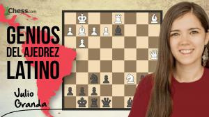 Julio Granda   Genios del ajedrez latino