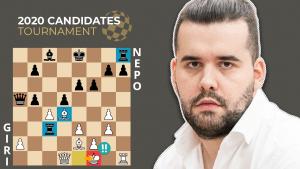 Candidates GOTD: Giri - Nepomniachtchi