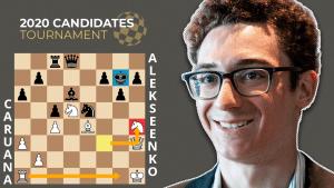 Candidates GOTD: Caruana - Alekseenko