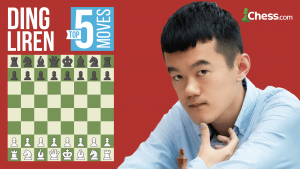 Ding Liren's Top Five Moves