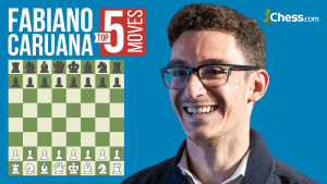 Fabiano Caruana's Top Five Moves