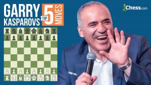 Garry Kasparov's Top Five Moves