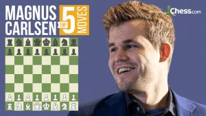 Magnus Carlsen's Top Five Moves