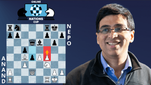 Online Nations Cup Game Of The Day: Anand - Nepomniachtchi