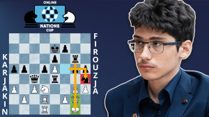 Online Nations Cup Game Of The Day: Karjakin - Firouzja