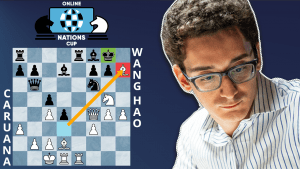 Online Nations Cup Game Of The Day: Caruana - Wang