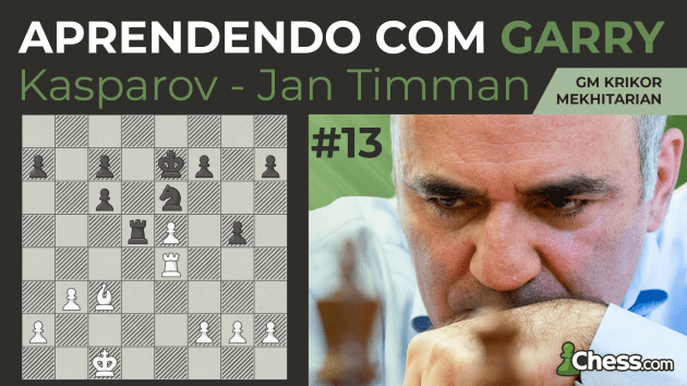 Aprendendo com Garry | Kasparov x Timman