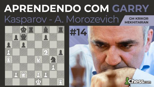 Aprendendo com Garry | Kasparov x Morozevich
