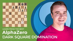 Learn From The Best: AlphaZero - Dark Square Domination