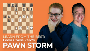 Learn From The Best: Leela Chess Zero's Pawn Storm