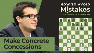 How To Avoid Mistakes: Make Concrete Concessions