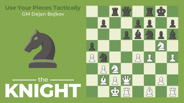 How To Use Your Pieces Tactically: The Knight