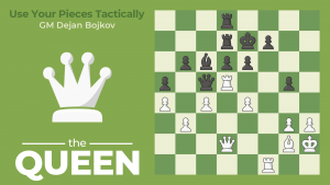 How To Use Your Pieces Tactically: The Queen