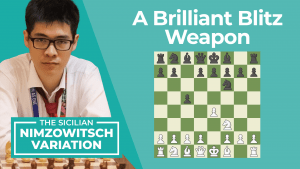 The Sicilian Nimzowitsch: A Brilliant Blitz Weapon