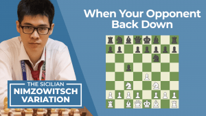 The Sicilian Nimzowitsch Defense: When Your Opponent Backs Down