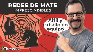 Equipo Alfil + Caballo | Redes de mate imprescindibles