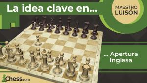 La idea CLAVE en la Apertura INGLESA