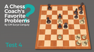 A Chess Coach's Favorite Problems: Test 4