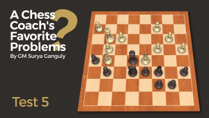 A Chess Coach's Favorite Problems: Test 5