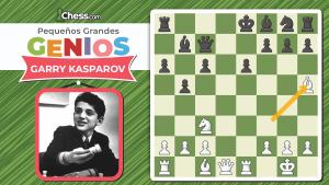 Garry Kasparov | Pequeños GRANDES GENIOS
