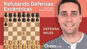 Defensa Miles | Refutando Defensas Excéntricas