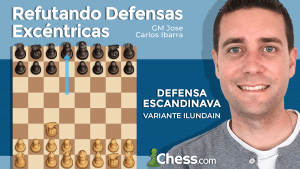 Defensa Escandinava Dd8 | Refutando Defensas Excéntricas