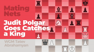 Mating Nets: Judit Polgar Goes Catches a King