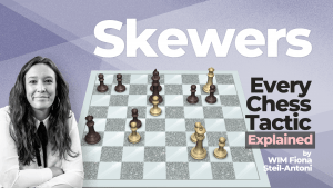 Every Chess Tactic Explained: Skewers
