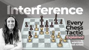 Every Chess Tactic Explained: Interference