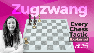 Every Chess Tactic Explained: Zugzwang